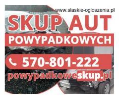Samochody powypadkowe kupię - Skup aut po wypadku,aut niekompletnych